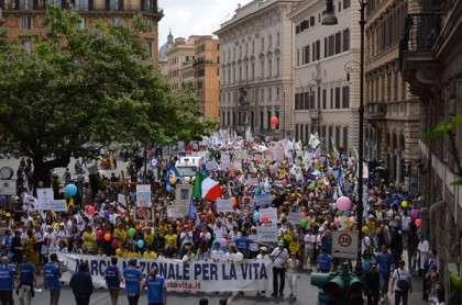Marcia per la Vita 2013