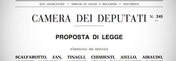 proposta di legge
