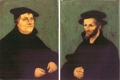 Lutero e Melantone