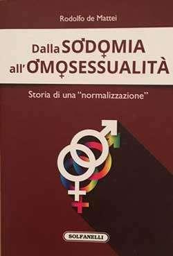 Dalla sodomia all'omosessualità