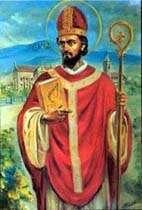 San Virgilio (Vigilio?) di Salisburgo Vescovo