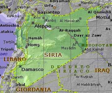 siria-cartina