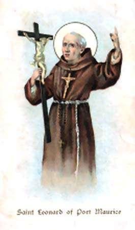 San Leonardo da Porto Maurizio Sacerdote - Corrispondenza romana