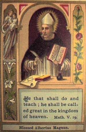 Sant' Alberto Magno Vescovo