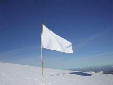 Assedio e bandiera bianca