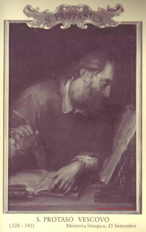sveti Protazij - škof