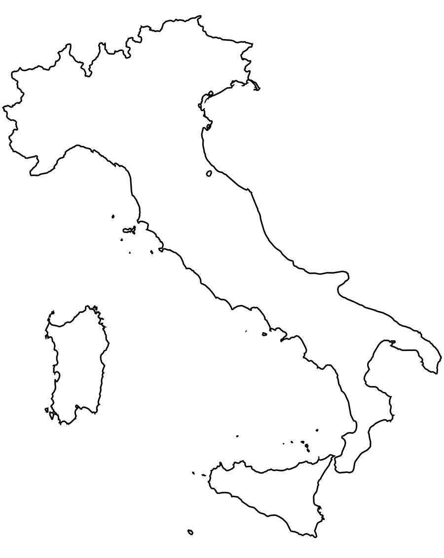 Cartina Italia Fisica Da Colorare Pieterduisenberg