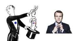 Emmanuel Macron, il coniglio dal cilindro di Bruxelles